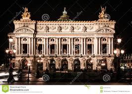 paris opera house chandelier paris opera house stock image image of gold interior 2836281