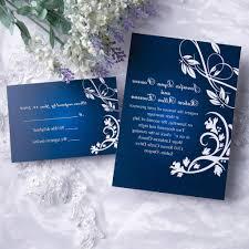 Royal Blue Wedding Invitations Wedding Invitation Blue Motif Yaseen For