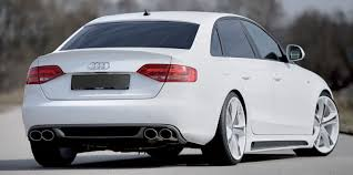 rieger audi audi a4 b8 sedan 2009 and on kit styling rieger tuning