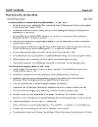 Rda Resume Examples by Thoreson Scott Resume