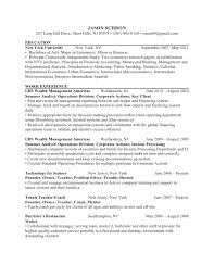 New Graduate Resume Examples by Recent Graduate Cv Template Super Idea Finance Resume Examples 16