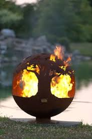 Sphere Fire Pit by Wildfire Horse Sphere Fire Pit Melissa Crisp U0027s Missy U0027s Newest