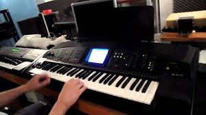 yamaha psr 7000 short test youtube