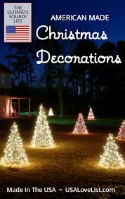 christmas decorations deck the halls with usa made our source list