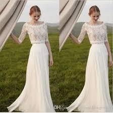 two wedding dress discount two pieces lace arab wedding dress 2017 half