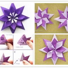How To Make A Origami Santa - wonderful diy folded origami santa
