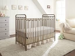 Crib Converts To Bed by L A Baby Trinity Metal 3 In 1 Convertible Crib U0026 Reviews Wayfair
