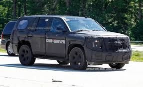 2017 nissan armada car and driver 2014 chevrolet tahoe gmc yukon spy photos u2013 news u2013 car and driver