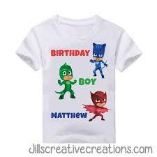 pj masks shirt camisetas camisas