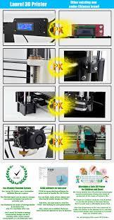 acrylic desktop 3d printer machine 3d printer kit 3d printer