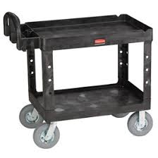 Rubbermaid Plastic Shelving by Trucks U0026 Carts Carts Plastic Shelf Rubbermaid U0026 174 4520 10
