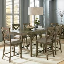 counter dining room sets standard furniture omaha grey counter height 7 piece dining room