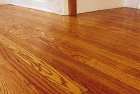 how to refinish a wood floor with a square buff sander home