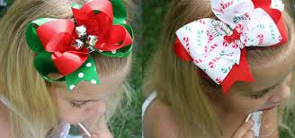 hair bows for awesome christmas hair bows for kids 2013 2014 hair