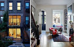 brownstone interior inside lang architecture u0027s light and airy carroll gardens