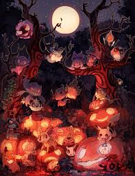 halloween pic art halloween by bluekomadori on deviantart