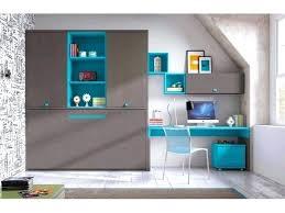 armoire bureau intégré lit armoire bureau lit bureau escamotable chambre enfant avec lit