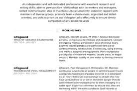 Lifeguard Resume Job Description by Job Description For Lifeguard Resume Lifeguard Resume Sample