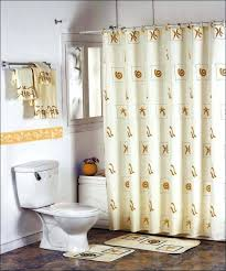 fabric shower curtains with valance bathrooms bathroom window