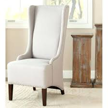 linen dining room chairs dining chairs taupe linen dining chair safavieh mercer lester