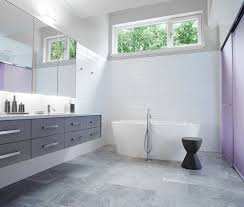 Designer Bathroom Wallpaper by 25 Grey Wall Tiles For Bathroom Ideas And Pictures Floor With Two
