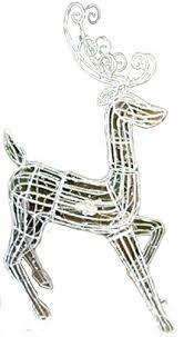 Moving Reindeer Christmas Decorations by Reindeer Lighted Yard Displays Christmas Wikii