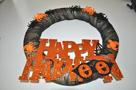 Halloween Wreaths To Make Crafts For The Home Archives The Latina Next Door