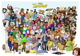 All Of The Meme - a massive collection of internet memes assembled in one poster