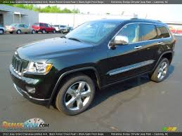 light green jeep cherokee 2012 jeep grand cherokee limited 4x4 black forest green pearl