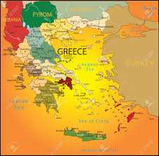 Greece Turkey Map by Greece Map Stock Photos Royalty Free Greece Map Images And Pictures