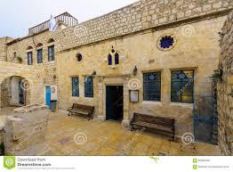 tzfat the ashkenazi haari synagogue safed tzfat stock photo image