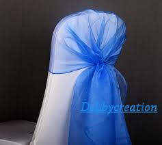 royal blue chair sashes cheap royal blue organza sash find royal blue organza sash deals