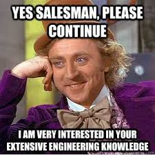 Project Management Meme - salesman company owner and project manager nenad trajkovski