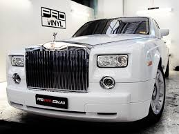 roll royce australia rolls royce phantom wrapped in glossy white
