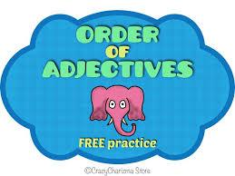 14 best grammar ordering adjectives images on pinterest order