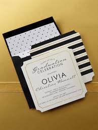 choose a linen graduation invitation design at tiny prints to make