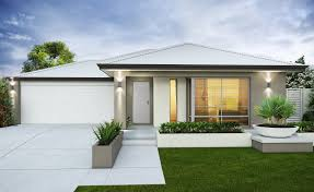 Modern Elevation A Light Contemporary Look With White Roof And Garage Door But A