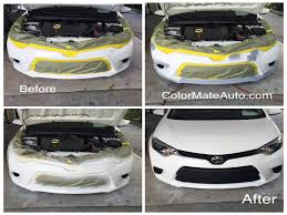 mobile auto scratch dent paint bumper and leather repair