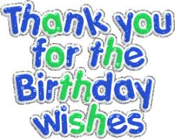 thank you for the birthday wishes thank you myniceprofile