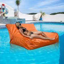 canap gonflable piscine gonflable siège canapé flottant couverture de sac de haricot