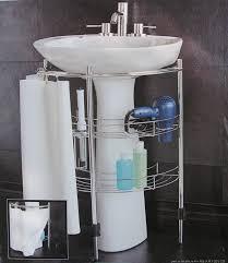 furniture slim under sink storage pegasus pedestal sink under