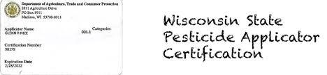 certification u2013 university of wisconsin pesticide applicator