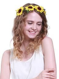 sunflower headband global store yellow sunflower headband sunflower crown yellow