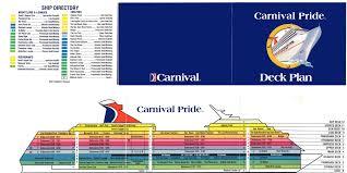 28 carnival pride floor plan carnival pride deck plans