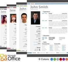Professional Resume Template Word 4 Best Images Of Modern Resume Template Microsoft Word Free