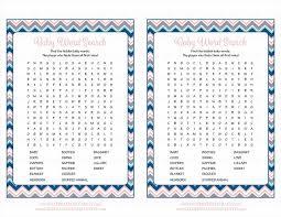 shower games for girls bingo word scramble baby shower game cards