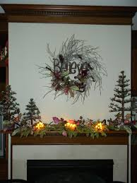 whimsical christmas decorations magical fairy wreath mantle