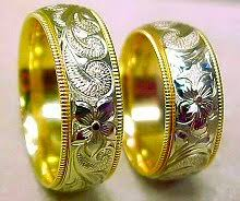 Hawaiian Wedding Rings by Tomoe U0027s Hawaiian Gold Jewelry