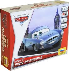 fin mcmissle cars finn mcmissile 1 43 snap fit kit