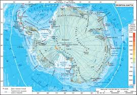 Antartica Map Antarctica Physical Map The Geography Of Continents And Oceans
